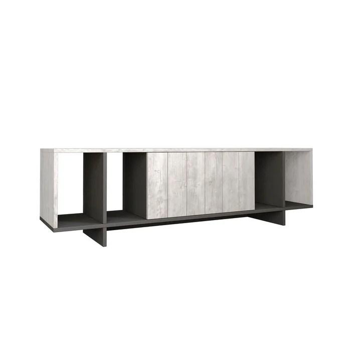 meuble tv design bois zitano