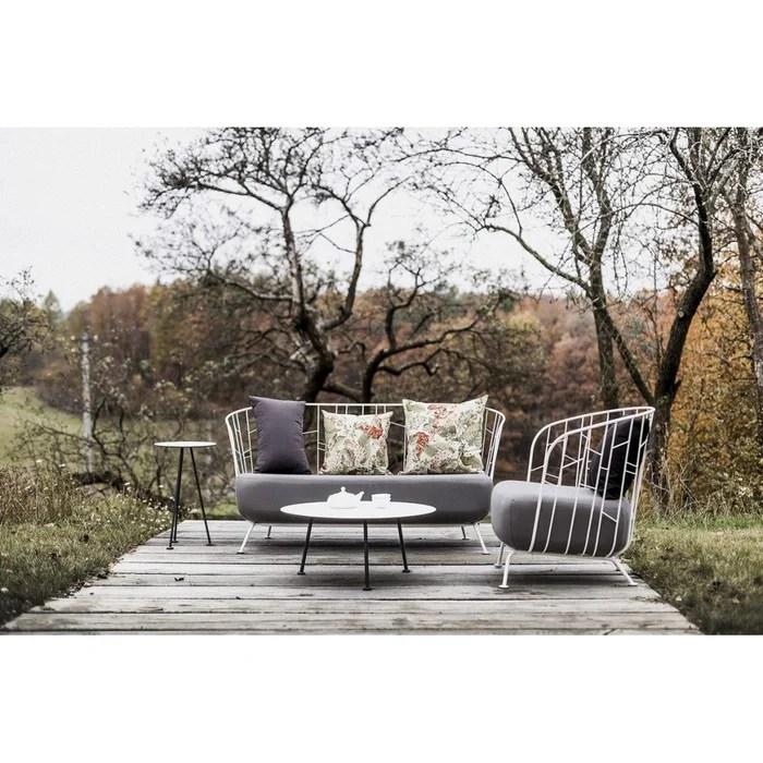salon de jardin egoe canape fauteuil tables basse et haute maj