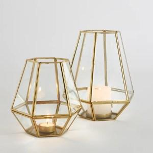 Imagen de Candil de cristal y metal, Miludi La Redoute Interieurs