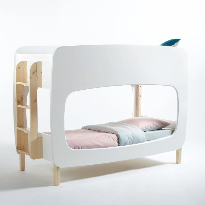 lits superposes avec sommiers bubble