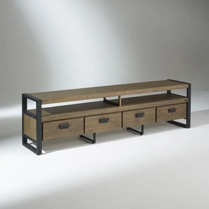 meuble tv industriel 208 cm jack