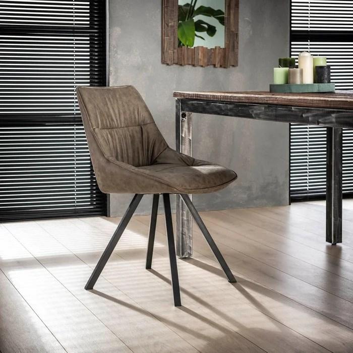 table style industriel tissu