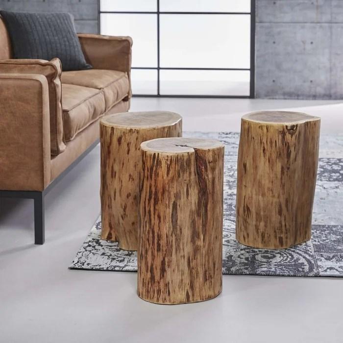 petite table d appoint tronc d arbre melbourne