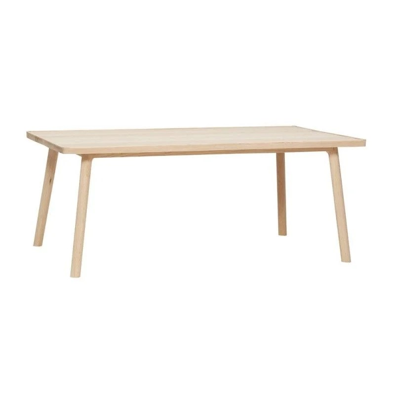 table basse rectangulaire scandinave