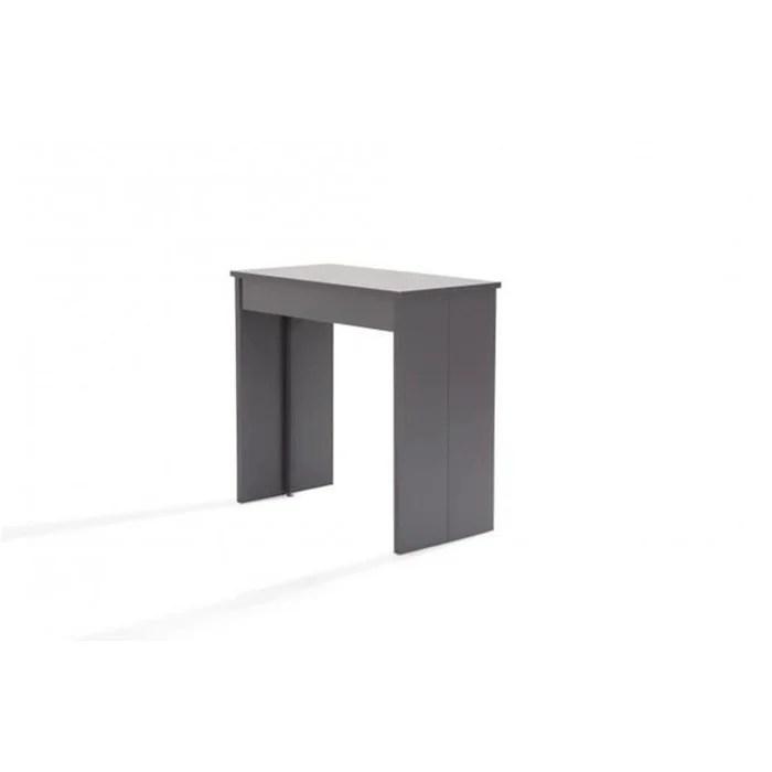 console extensible grise 145cm san francisco