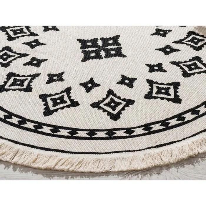 tapis rond interieur nomade d 90 cm