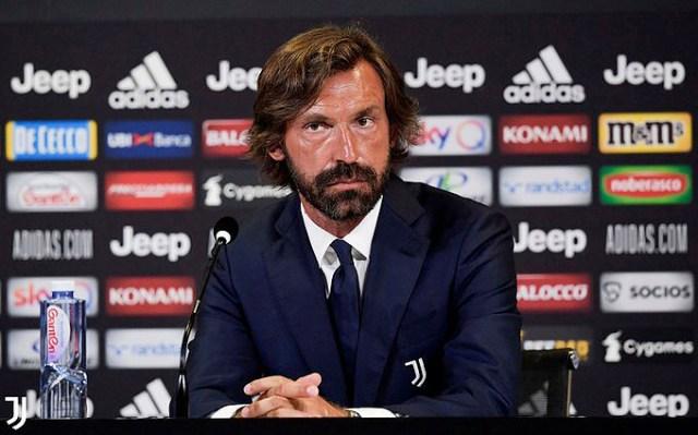 Andre Pirlo inicia su carrera como técnico al mando de la Juventus Sub-23
