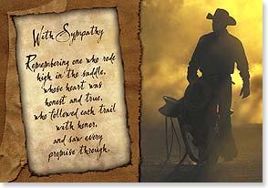 Sympathy Card 59478 Leanin Tree