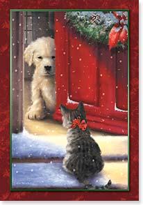 Holiday Card May You Discover Warmth This Holiday