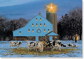 Christmas Card May Your Christmas Be All Aglow With