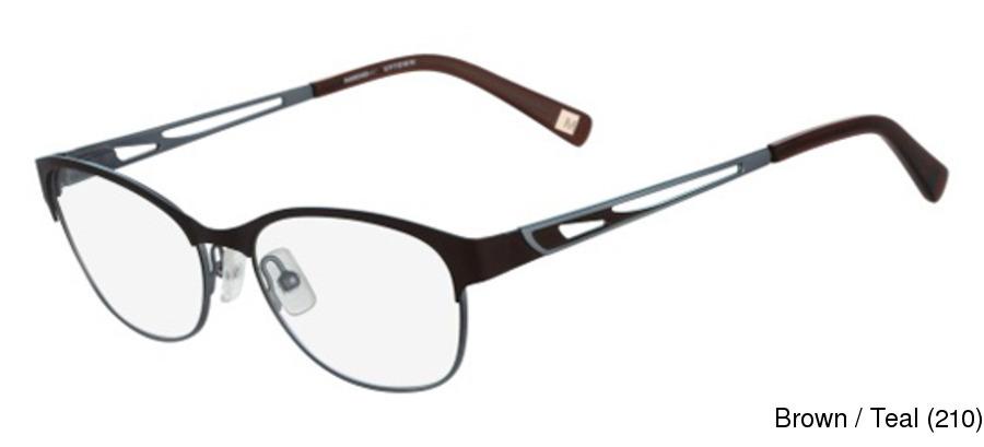 Marchon Eyeglass Frame Teal