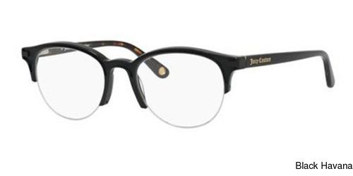 c4764ef50f54 Juicy Couture 164 Semi Rimless Half Frame Prescription