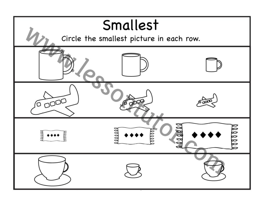 Count And Match Worksheet Kindergarten 15