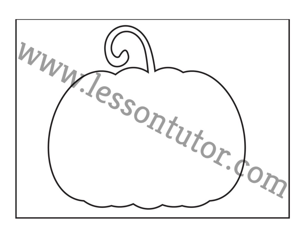 Halloween Printable Stencils For Pumpkin Worksheets