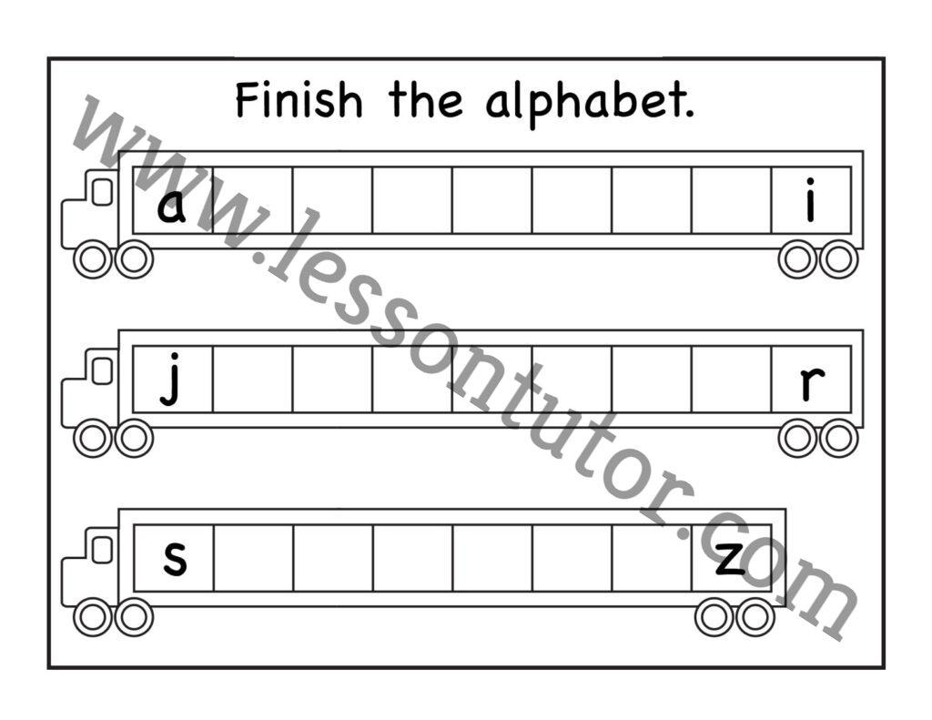Missing Lowercase Letters Worksheet Kindergarten 10