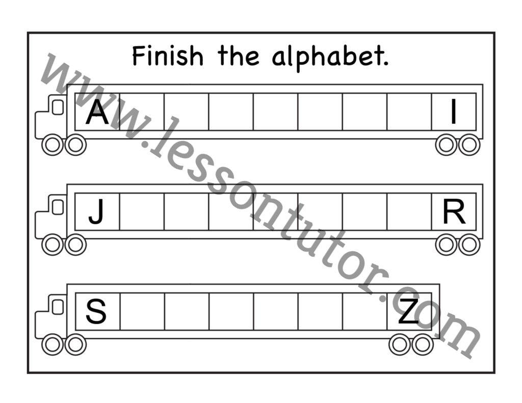 Missing Uppercase Letters Worksheet Kindergarten 6
