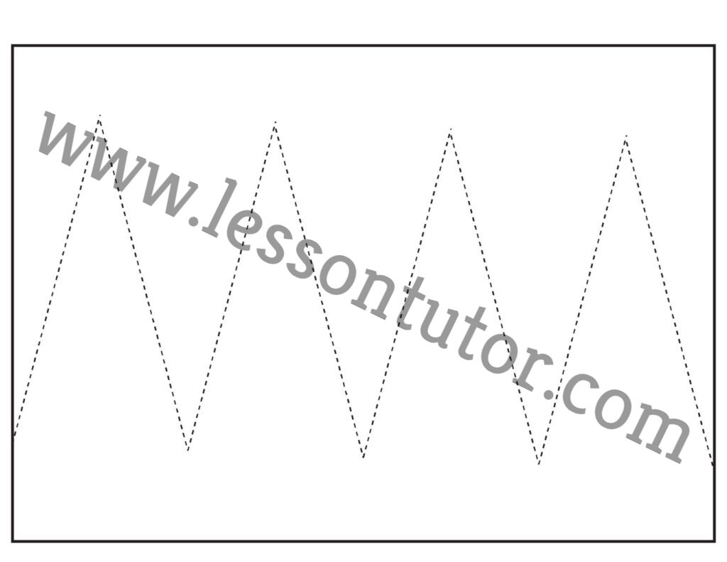 Scissor Cutting Skills 3 Worksheet Kindergarten