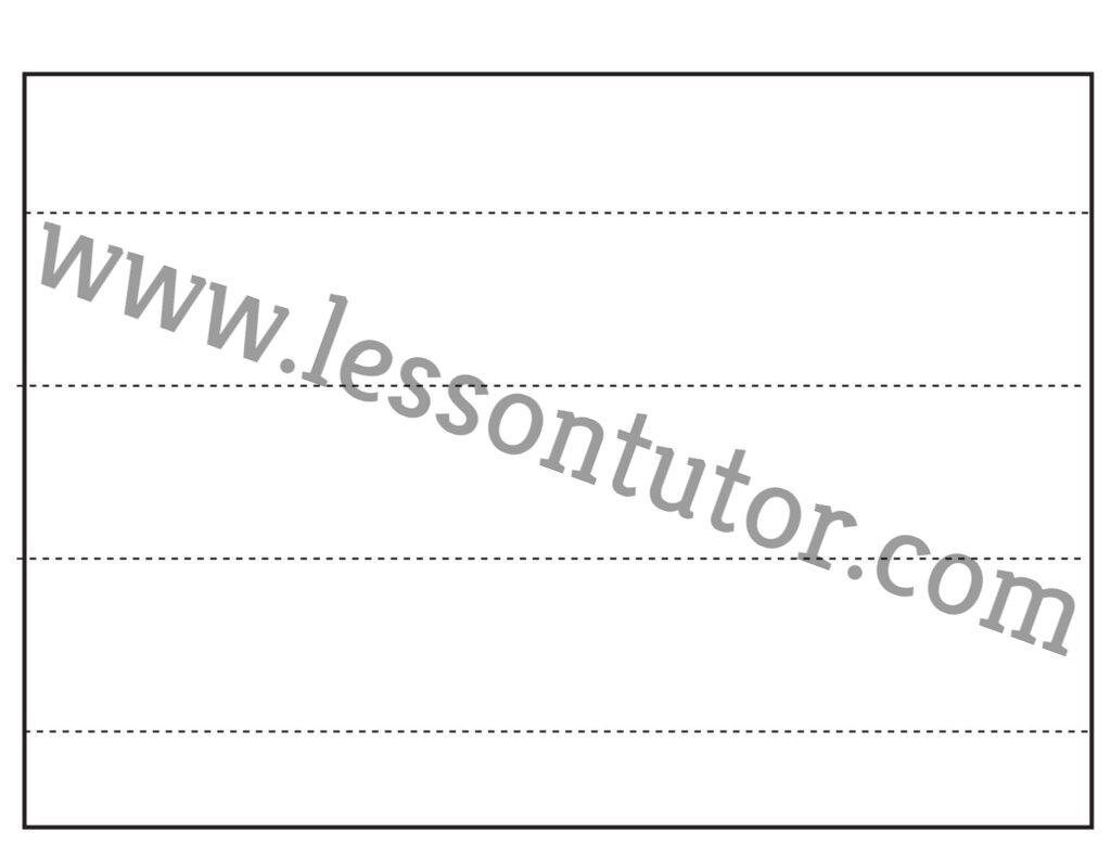 Scissor Cutting Skills Straight Line Tracing Worksheet