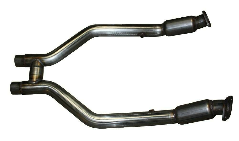 mrt engineering 2011 2014 mustang 3 7l v6 off road h pipe