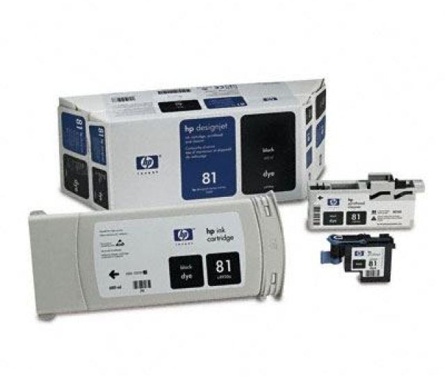 Hp 81 Dye Ink Value Pack For Designjet 5000 5500