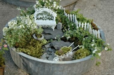 Jardin des fées DIY