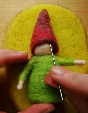 Gnome feutré DIY
