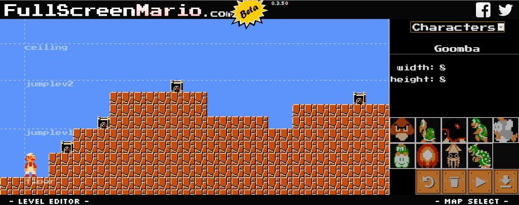 Level Editor 63 Mario Super