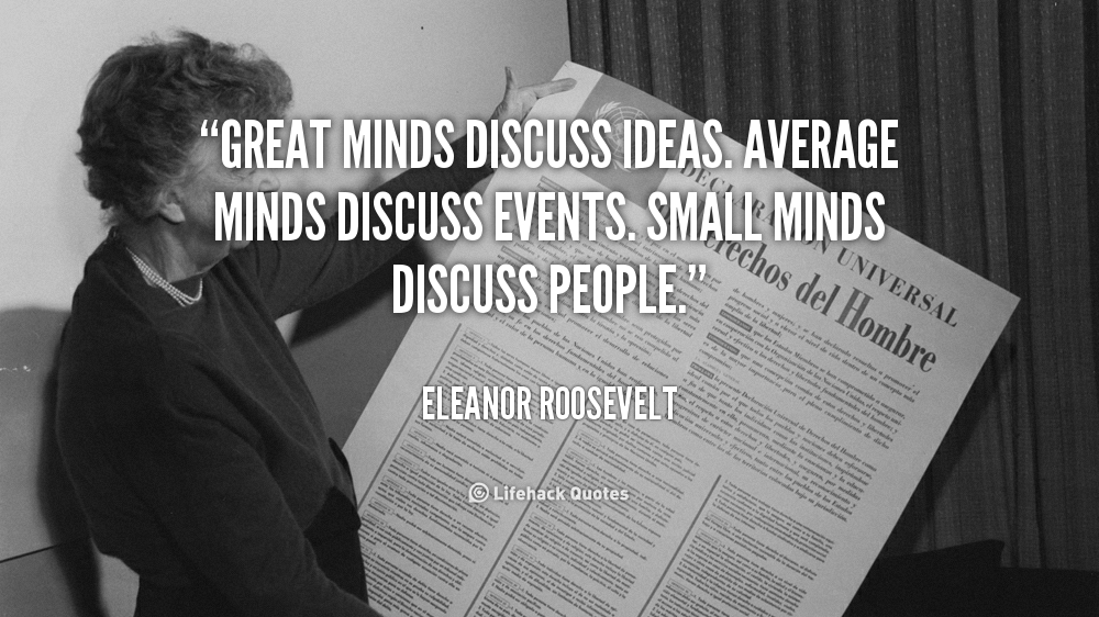 Small About Quote People People Talk