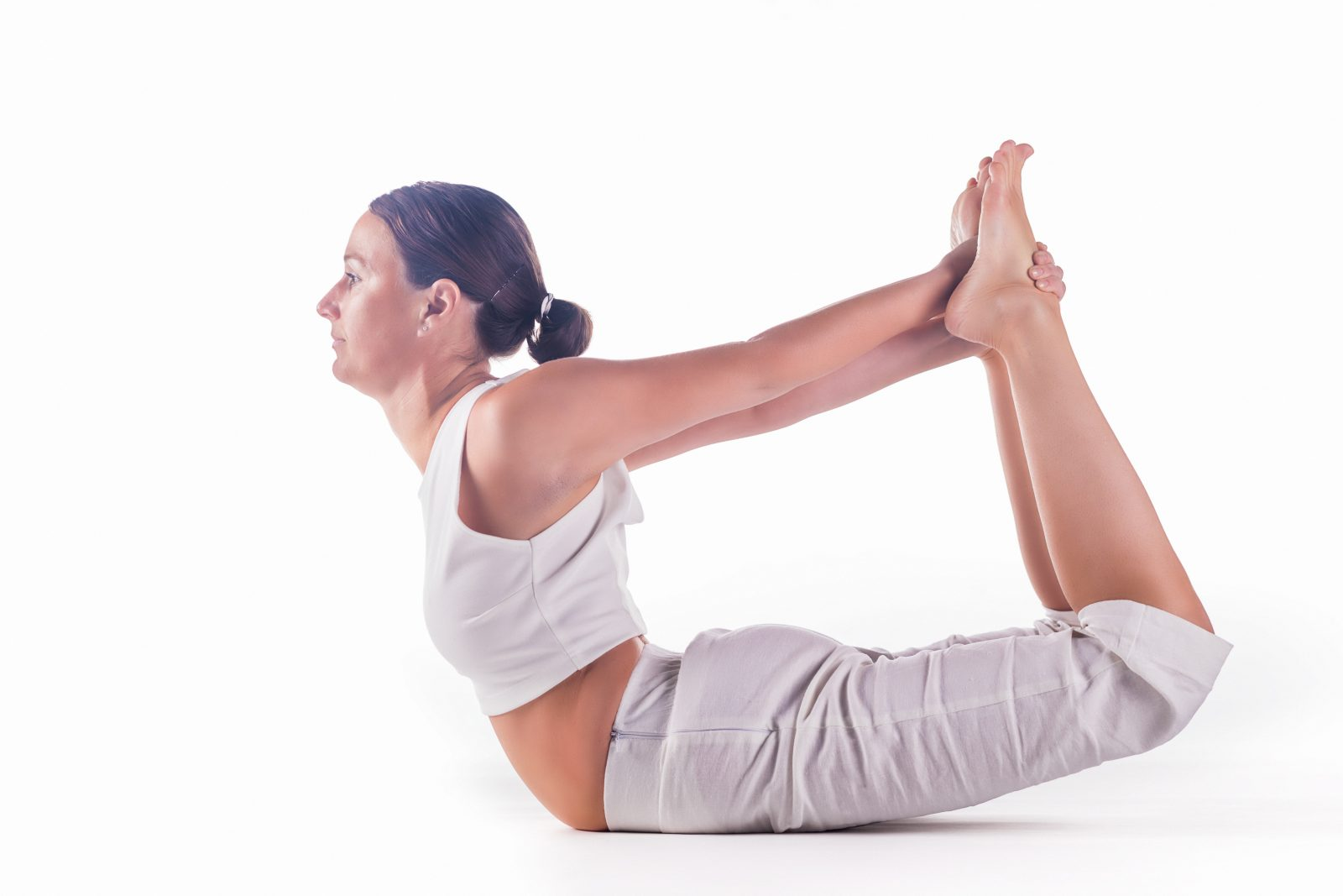 Yoga exercises for weight loss at the waist  Yoga for a flat