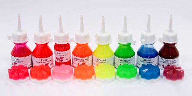 Handgemaakte zeep: kleurstoffen