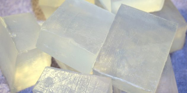 Zelfgemaakte zeep: basis
