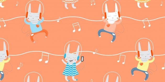 Музыка для детей: плей-листы и полезные приложения