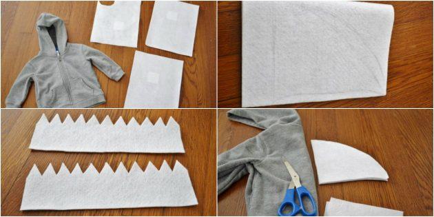 Как сделать костюм акулы своими руками