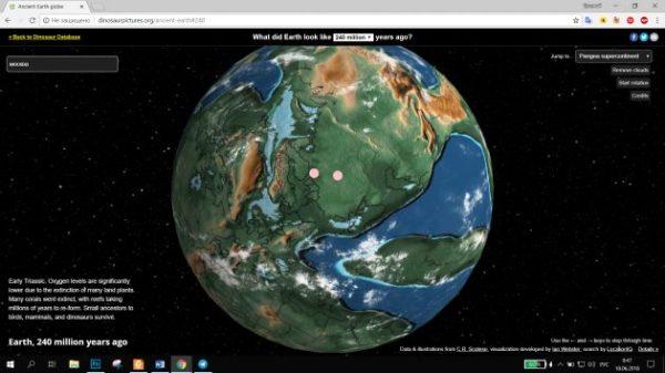 Интерактивная карта Земли покажет, где находился бы ваш ...