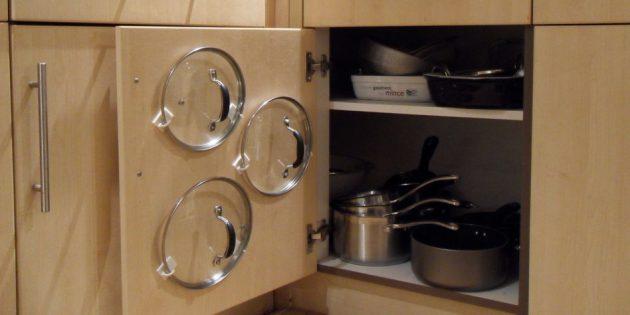 Проект кухни: Хранение на кухне