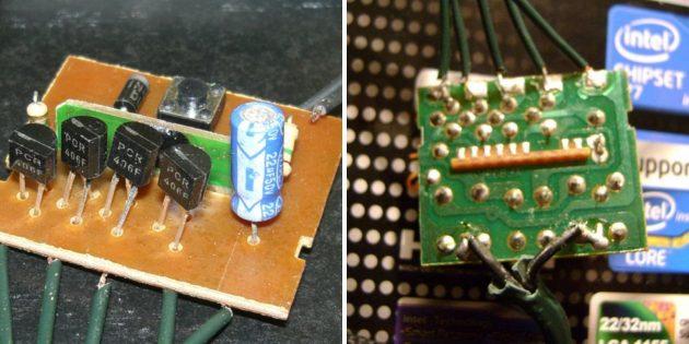 Как починить гирлянду: Содержимое контроллера