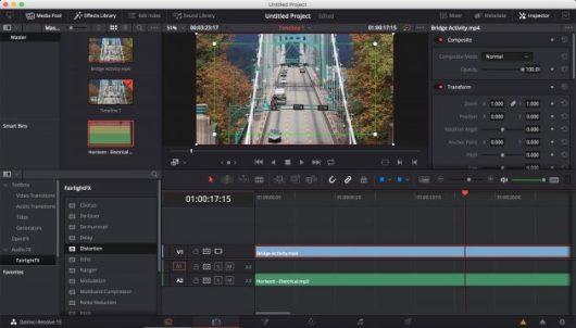 Free Video Editors: DaVinci Resolve