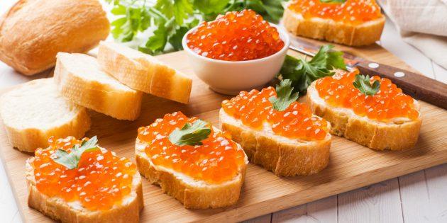 Hvordan plukke opp kaviarpumper med sukker
