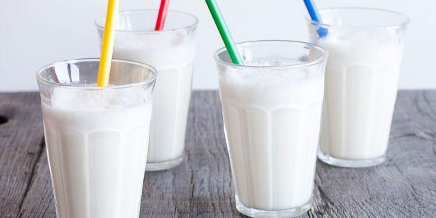 Как сделать молочный коктейль: Классический молочный коктейль с мороженым
