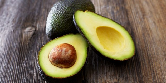Как разрезать авокадо за одну минуту
