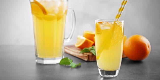 Oranssi limonadi