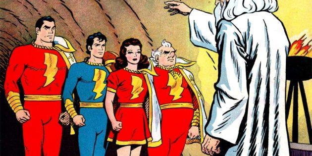 """Shazam!"": Qui aide le héros"