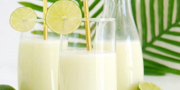 Brasilian limonadi kondensoitua maitoa
