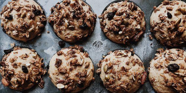 পনির এবং রসুন সঙ্গে rash muffins: রেসিপি