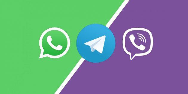 Telegram WhatsApp Viber