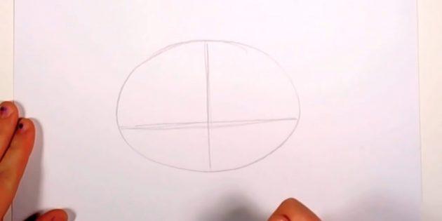 Næste blyant oval