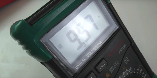 Dalam multimeter manual, ia mungkin perlu digunakan untuk menyesuaikan julat pengukuran