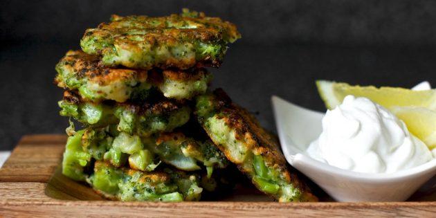 Przepis zapiekanki z brokułami, szynką i serem