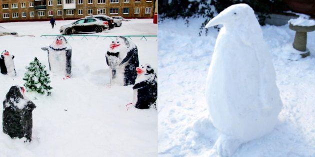 雪数字:企鹅