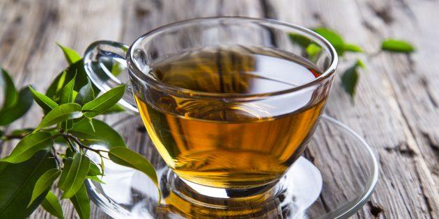 Как уменьшить стресс при помощи питания: зелёный чай